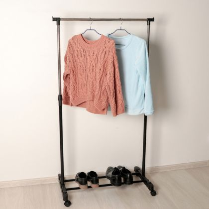 Вешалка гардеробная, 1 перекладина, 81 х 42 х 160 см