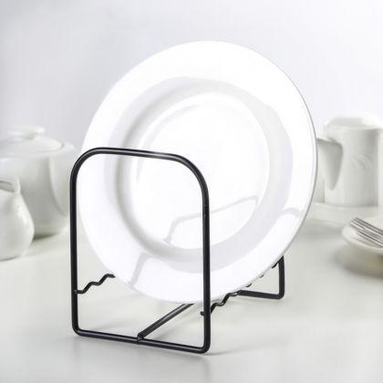 Подставка под тарелки, черный, 11,5 x 12 x 14,5 см