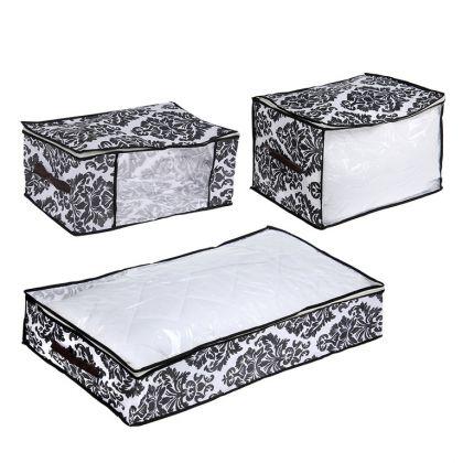 Комплект кофров для хранения вещей «Барокко», 3 шт