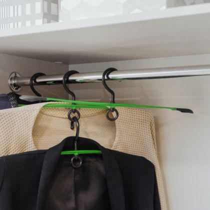 Вешалка-плечики с антискользящим покрытием, 48 х 12,5 х 3 см