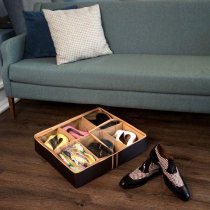 """Органайзер для обуви на 6 ячеек """"Costa-Rica"""", 56 х 52 х 12 см"""