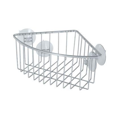 Корзина угловая для ванной комнаты, 18,5 x 18,5 x 10 см
