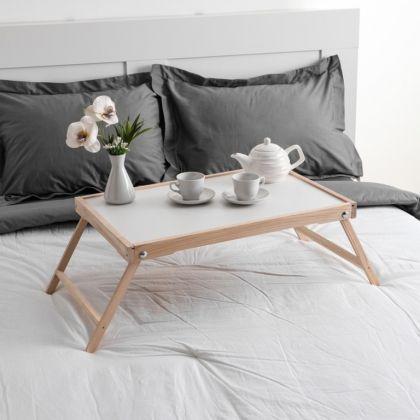 Столик для завтрака «Renaissance», массив ясеня, некрашеный, 60 х 40 см