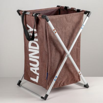 Корзина универсальная «Laundry», коричневый, 41 x 36,5 x 56 см