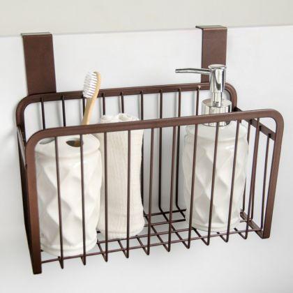 Корзина подвесная, коричневый, 26 x 13 x 21,3 см
