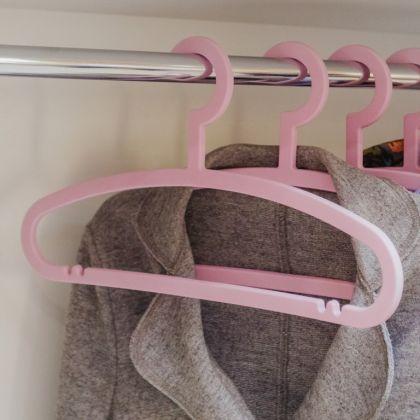 Вешалка «Cozy», розовый, 42 x 0,6 x 22 см