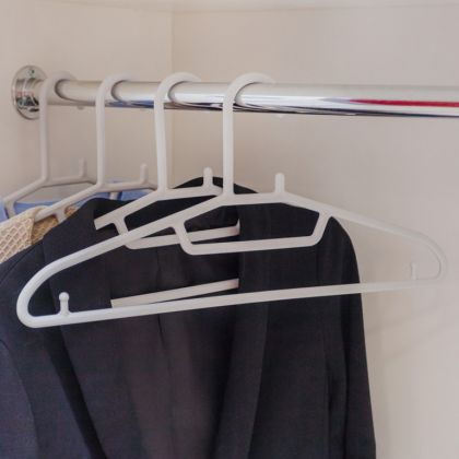 Вешалка «Cozy», серый, 41,5 x 0,6 x 20,5 см