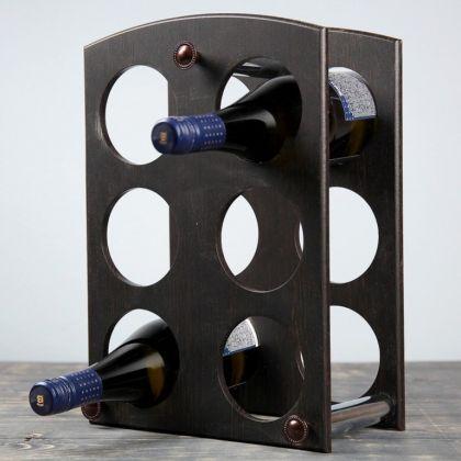Винный бар «Классик», коричневый, 26 x 4 x 37,2 см