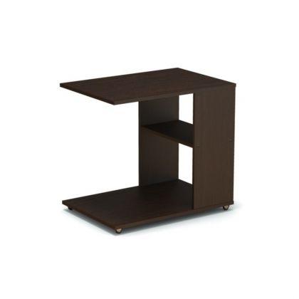 Столик прикроватный, венге, коричневый, 69 х 48 х 63 см
