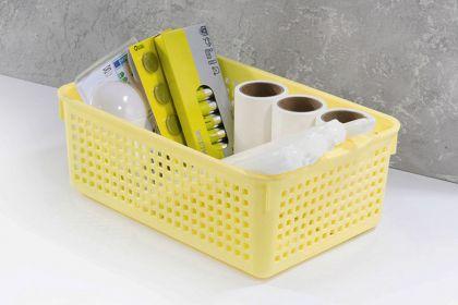 Корзина с крышкой «Loft», 3,8 л, желтый, 29,5 x 18,5 x 10,5 см