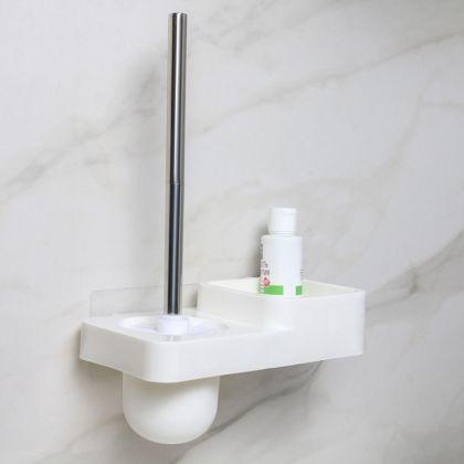 Подставка для туалетной комнаты с креплениями, 24,5 x 13,5 x 18,5 см