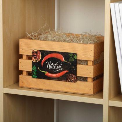 Ящик для хранения «Chili», бежевый, 20 х 15 х 15 см