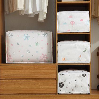 Чехол для постельного белья «Snowflake», белый, 60 x 40 x 25 см