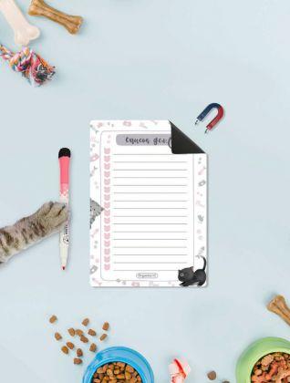 Магнитный планер список дел «Котята», белый, 21 x 15 см
