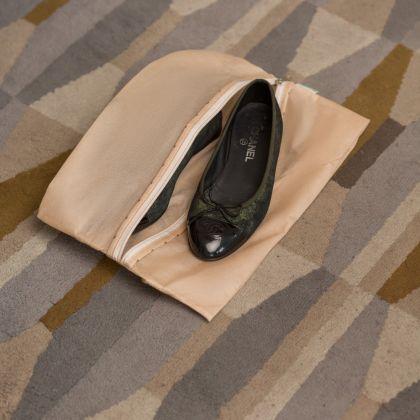 Мешок для обуви на молнии, 40 х 25 см