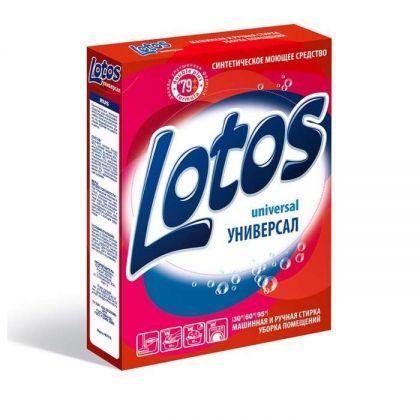 Стиральный порошок «Lotos» Универсал, 350 г, 13,5 x 3 x 19 см