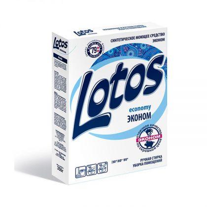 Стиральный порошок «Lotos» Эконом, 350 г, 13,5 x 3 x 19 см
