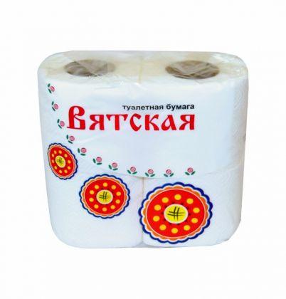 Туалетная бумага «Вятская», 4 шт