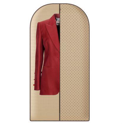"""Чехол для одежды """"Горох"""", 120 х 60 см"""