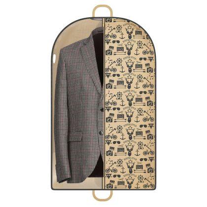 """Чехол для одежды """"Hipster Style"""", 100 x 60 см"""