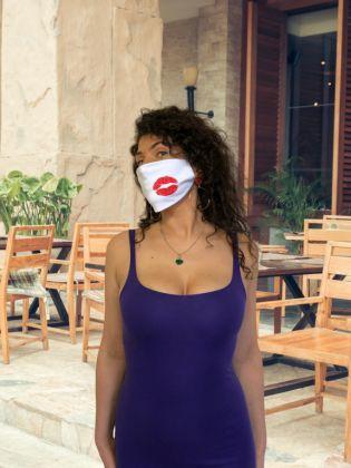 Тканевая маска «Поцелуй» многоразовая, 23 x 11,5 см