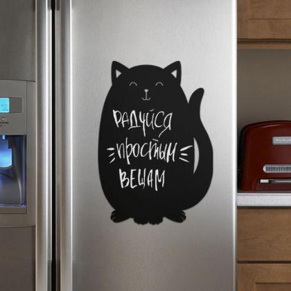 Грифельная магнитная доска «Black cat», 40 x 27 см