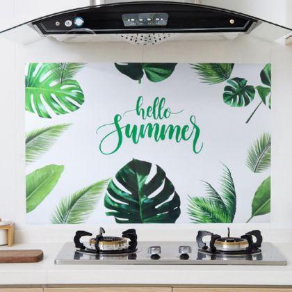 Наклейка жироотталкивающая для кухни «Palm», 90 x 60 см
