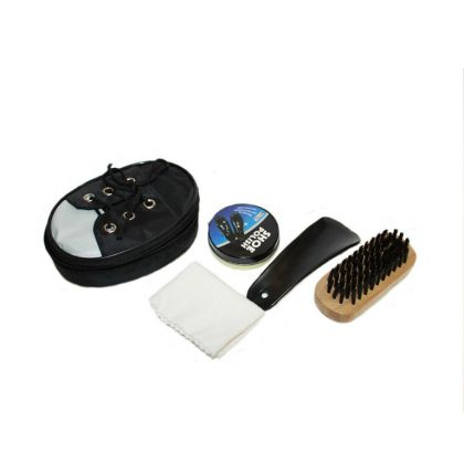 Несессер-набор для чистки обуви «Кед», черный, 11,5 х 8 х 3,5 см