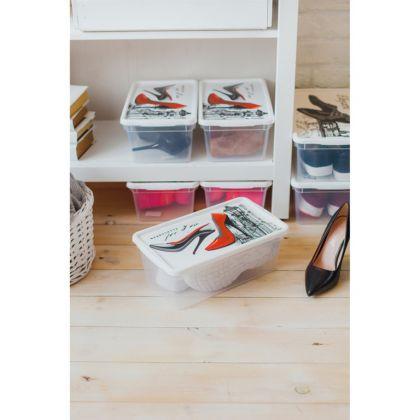 Контейнер для женской обуви, 33 x 19 x 12 cм