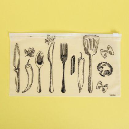 Пакет для хранения еды горизонтальный «Gastronomy», 25 x 14,5 см