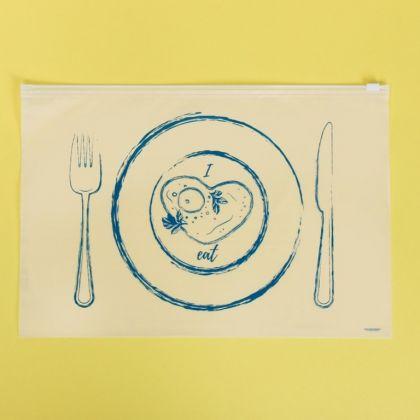 Пакет для хранения еды горизонтальный «Eat», 36 x 24 см