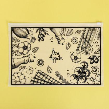 Пакет для хранения еды горизонтальный «Taste», 36 x 24 см