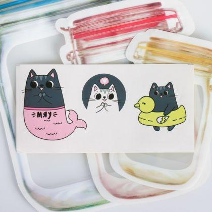 Набор пакетов-банок «Cat»