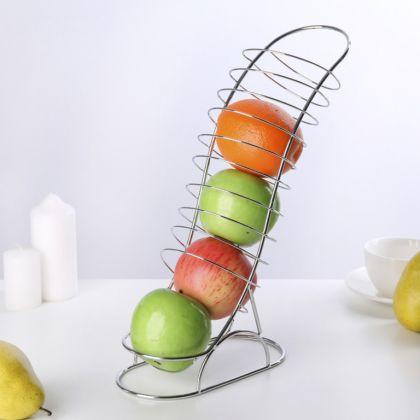 Ваза для фруктов «Горка», 20 x 10 x 33 см