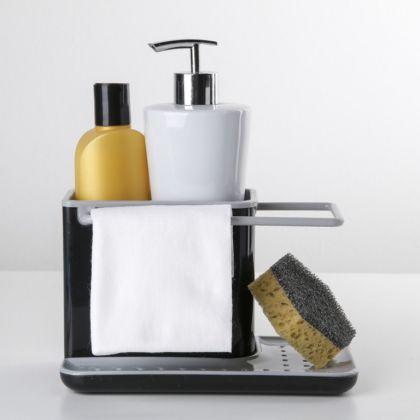 Подставка для ванных и кухонных принадлежностей, 21 x 11 x 12 см
