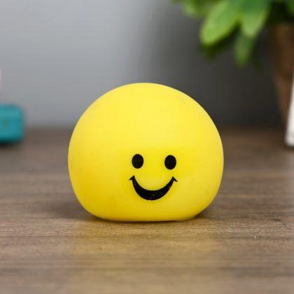 Ночник «Smile», 1Вт RGB, 5 х 6 х 6 см