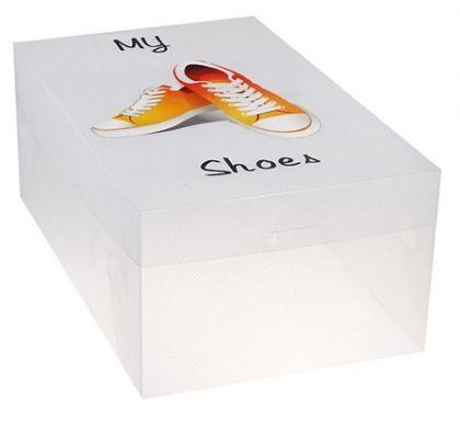 Коробка для хранения мужской обуви