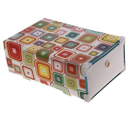 Коробка для хранения Melani выдвижная, квадраты