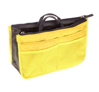 Органайзер для сумки желтый Chelsy большой