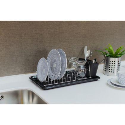 Сушилка для посуды с поддоном «Color», 43 x 21 x 12 см