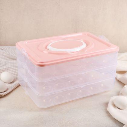 Контейнер для хранения яиц, 31,5 x 22 x 17,5 см