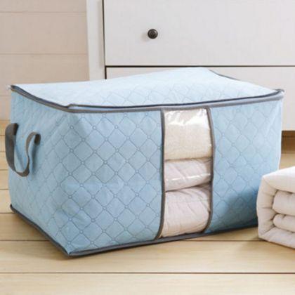 Чехол для постельного белья, голубой, 60 x 42 x 36 см