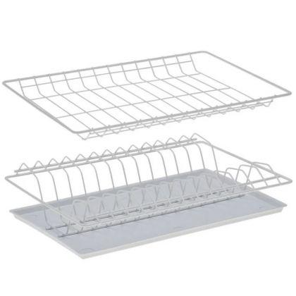 Комплект посудосушителей для шкафа, с поддоном, белый, 36,5 x 25,6 x 9 см
