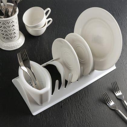 Сушилка для посуды «Katrin», белый, 34 x 14 x 8 см