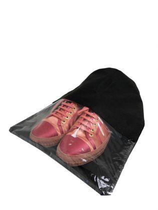 Чехол для обуви и вещей «Premium Black», черный, 44 x 32 см