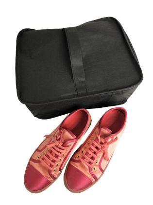 Органайзер для обуви на молнии «Premium Black», черный, 32 x 24 x 16 см