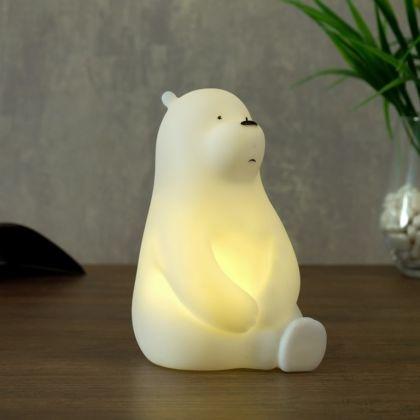 Ночник «Polar Bear» LED батарейки 3xLR, 11 х 8,5 х 14 см