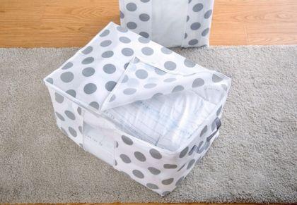 Кофр для постельного белья, белый, 60 x 40 x 36 см