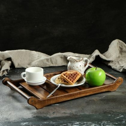 Поднос для завтрака «Renaissance», ясень, 43 x 24 x 5,5 см