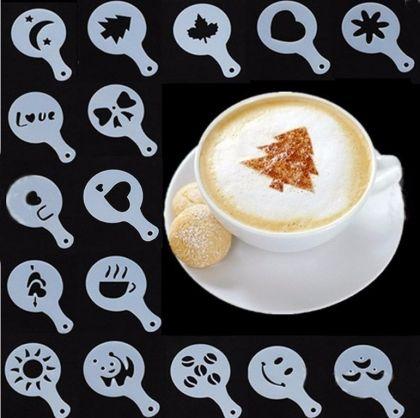 Трафареты «Coffe Barista», 16 шт, 13 см